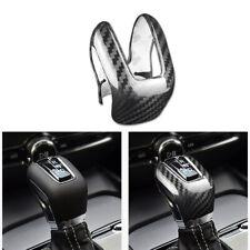 Car Carbon Fiber Gear Shift Knob Cover Trim Fit For Volvo S60 S90 XC60 2018+