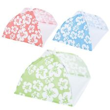 1 2 3 4 x Set Protective Hot Cold Food BBQ Covers Insect Folding Mesh Umbrella