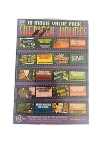 Sherlock Holmes Movie Ten Pack Dvd