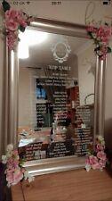 Personalised Wedding Table Plan Vinyl Decal