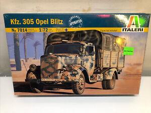 Italeri 7014 1/72 scale Kfz 305 Opel Blitz WWII German Truck model kit