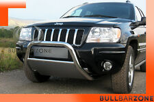 JEEP GRAND CHEROKEE WJ99-04 TUBO PROTEZIONE MEDIUM BULL BAR INOX STAINLESS STEEL