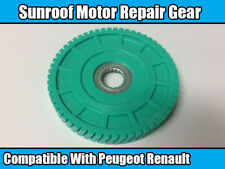 1x Sunroof Motor Repair Gear For Peugeot 206 Renault Clio Scenic Megane Green