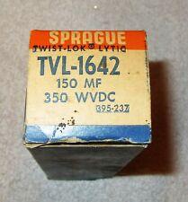 One Vintage Nos Sprague 150 Mf @ 350 Wvdc Capacitor