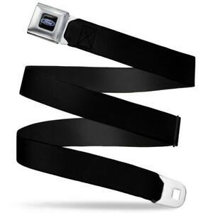 Authentic Ford Logo Seatbelt Badge Full Color Belt Authentic Black Seat Belt