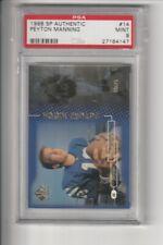 1998 SP Authentic Peyton Manning RC Rookie Colts /2000 PSA 9 MINT BGS 9.5?