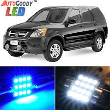 4 x Premium Blue LED Lights Interior Package Kit for Honda CRV 2002-2006 + Tool