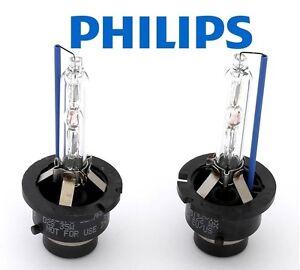 2 x PCS NEW Xenon PHILIPS D2S 6000K Bulbs 85122WX Pure WHITE BLUE AUDI BMW VW