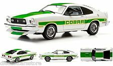 GreenLight 1978 Ford Mustang Cobra II WHITE 1/18 New In Box 12895WH