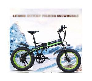 """Phazed SMLRO E Bike EFT 20 4.0 Fat Tyre 20"""" Folding 48V 12ah 750W UK Seller"""