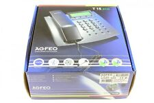 AGFEO T 15 eco analoges Telefon schwarz NEU