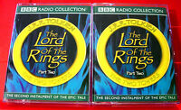 J.R.R.Tolkien Lord Of The Rings The Two Towers BBC 4-Tape Audio Drama Ian Holm