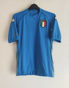 Italy 2002-04 home football shirt maglia camiseta trikot - Kappa Size S