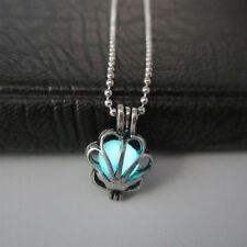 Steampunk Pretty Magic Round Fairy Locket Glow In The Dark Pendant Necklace HOT