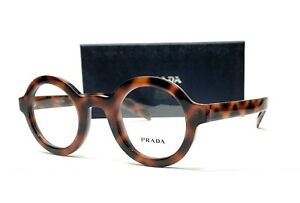 PRADA VPR 01X 519-1O1 Spotted Brown Demo Lens Men's Eyeglasses 43mm