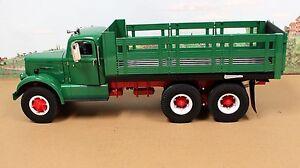 Fumby Street Motors 1957 White WC-22 Stake Truck 1:15 MIB Ltd Edition All Green