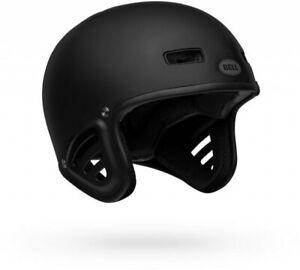 Bell Racket Helmet Matte Black - BMX Mountain Bike Bicycle Crash Protection