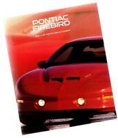 1996 Pontiac FIREBIRD Brochure / Catalog with Color Chart: TRANS-AM,FORMULA,WS6,