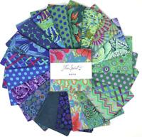Kaffe Fassett Collective Classics OCEAN (42) Charm Pack Cotton Quilting Fabric