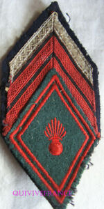 IN17066 - PATCH LOSANGE DE BRAS DU TRAIN - Brigadier chef