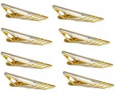 10 tie clips lot clasps pins silver gold color crystal a9bi10