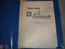 Mazak Qs30 Cnc Lathe Tooling Manual