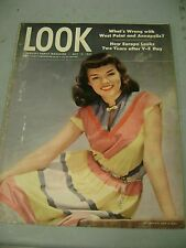 LOOK MAGAZINE MAY 13 1947 WEST POINT ANNAPOLIS EUROPE WOMAN COVER