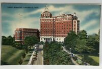Postcard Vintage ~ Christ Hospital, Cincinnati OH Ohio - Kraemer Art Company