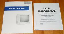 Amiga 1080 Color Monitor Manual - User's Guide for 13 in Color Monitor