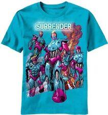X-men Sentinels Surrender Marvel Comics T-Shirt Light Blue NWT Size Large