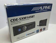 Alpine CDE-SXM145BT CAR RADIO/RECEIVER/CD/MP3/USB/SIRIUS XM/ BLUETOOTH/PANDORA