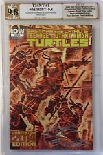 TMNT #1 Cover A SDCC Variant PGX 9.8 SIGNED AND REMARKED BY KEVIN EASTMAN