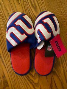 New York Giants Men's Small (7/8) Slide Slippers H