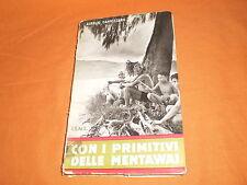 aurelio cannizzaro con i primitivi delle mentawai 1959 ed. missionarie