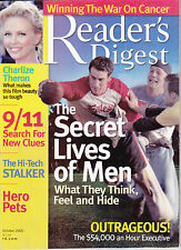 Magazine Reader's Digest October 2005 Charlize Theron 9/11 Search for new clues