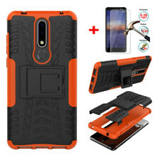 Heavy Duty Armor Hybrid Hard Back Case Cover Shockproof For Nokia 7.1 / 3.1 Plus