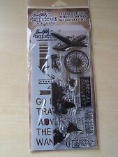 TIM HOLTZ - STAMPERS ANONYMOUS - STAMPS /STENCIL - TRAVEL/SPECIAL DELIVERY