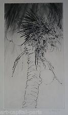YANNICK BALLIF BALIF GRAVURE 1980 SIGNÉE CRAYON NUM/75 HANDSIGNED NUMB ETCHING