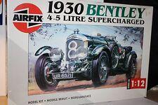 1930 Bentley :  Airfix 20440 : 1990 Release 1:12 scale model kit.  OOP