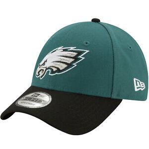 New Era 9FORTY Philadelphia Eagles The League NFL Adjustable Baseball Cap Green