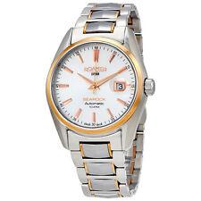 Roamer Searock Silver Dial Automatic Mens Two Tone Watch 210633 49 25 20