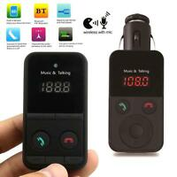 Wireless Bluetooth FM Transmitter Modulator Car MP3 Player SD USB LCD Remote ~DW