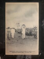 1942 Brazzaville French Africa Congo RPPC Postcard Cover General Gaullle