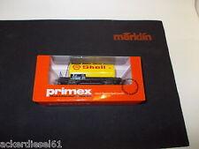 Märklin HO /Primex  4579 SHELL Kesselwagen   in ungeöffneter OVP.   (X258)
