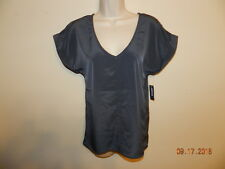 Womens Old Navy XS Gray Blouse NWT Dressy