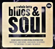 A WHOLE LOTTA BLUES & SOUL - VARIOUS ARTISTS (NEW SEALED 3CD Digipak)
