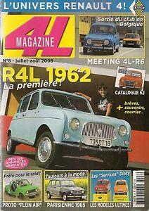 4L MAGAZINE 8 RENAULT 4L 1962 R4 STOCK CAR R4 PLEIN AIR RENAULT 4 PARISIENNE
