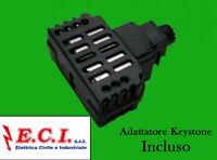 Tecnel TE4595 Dimmer rotativo x Ventilatori 40-350W + Dev. Vimar Idea