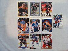 Esa Tikkanen 10 Card Lot Edmonton Oilers New York Rangers