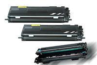 2 Toner + DRUM kompatibel für Brother MFC-7420N 7220N 7225N  7820N HL-2030 2040